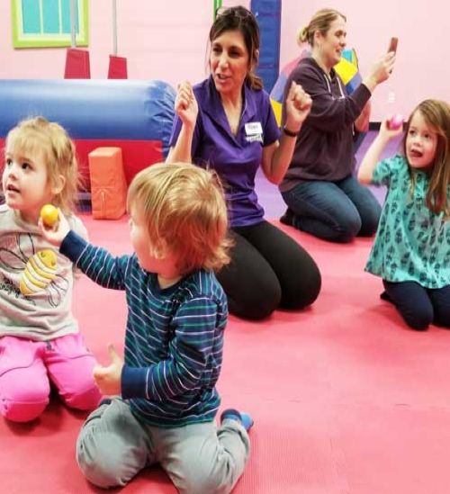 Gym, Art and Music Classes for 5 Year Olds at Romp n Roll