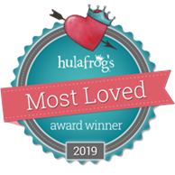 Hulafrogs Most Loved Badge